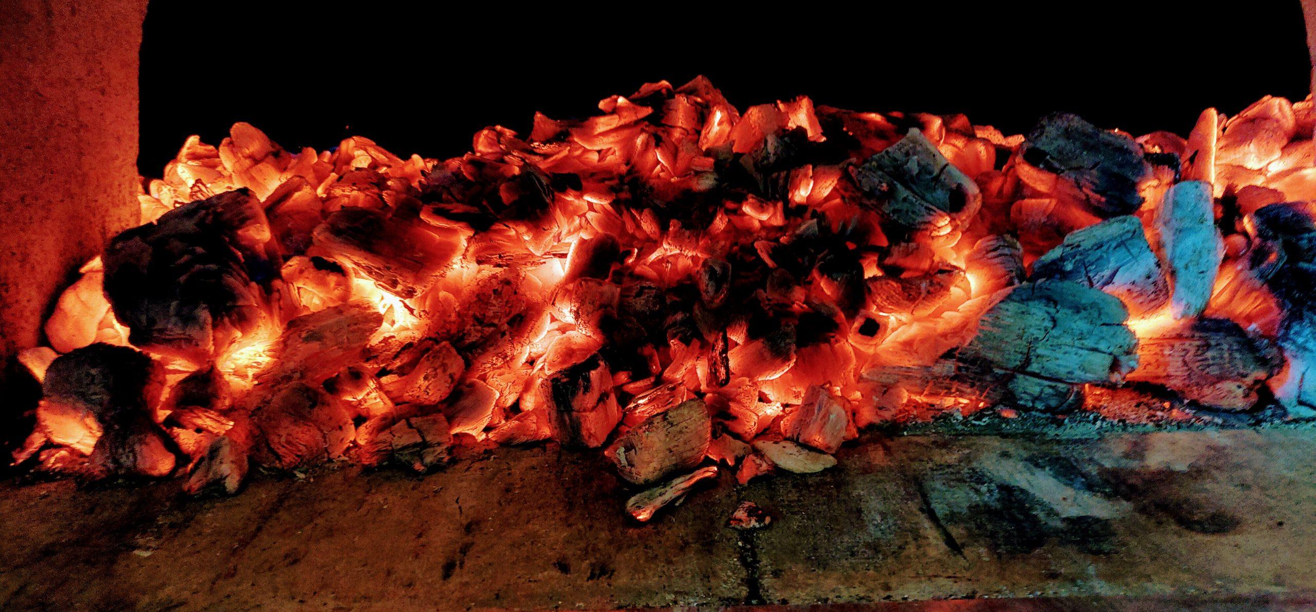 Four à feu de bois