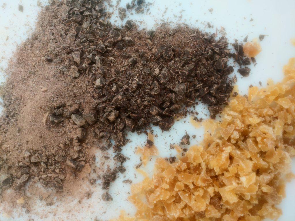 Brioche au gingembre et chocolat noir